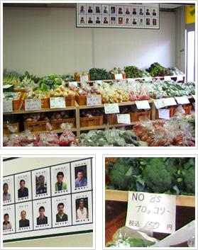 葛飾元気野菜販売所での集合写真