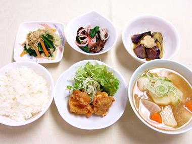 葛飾区役所「元気が出る食堂」の写真